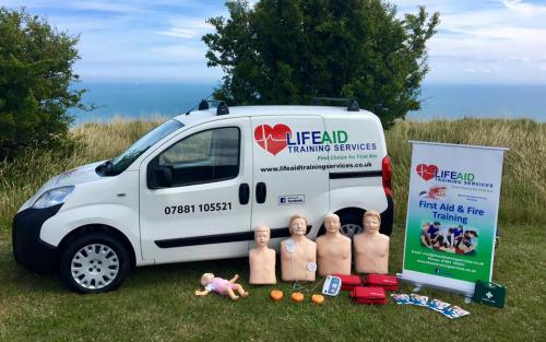 LifeAid Training Services Van and Kit